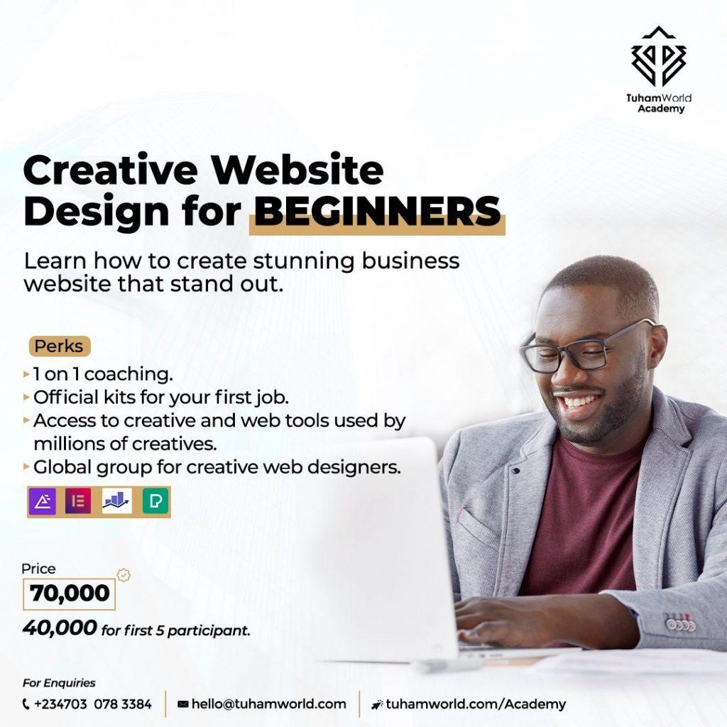 Creative Website Design for Beginners